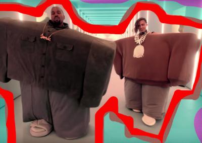 Kanye West & Lil Pump se unen en el video 'I Love It'