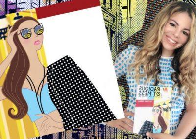 """La diseñadora de moda Melissa Morales presenta el libro """"A Gracious Hot Mess"""""""