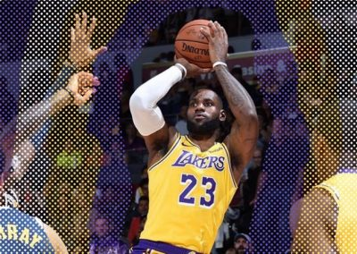 LeBron James se estrena con los Lakers
