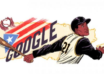 Google rinde tributo a Roberto Clemente