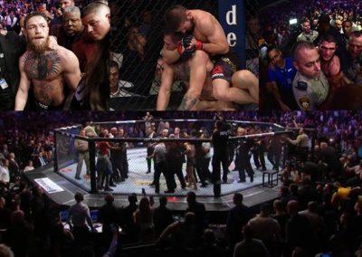 UFC 229: ¿Qué pasó en y fuera del octágono?