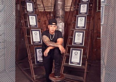¡El Big Boss! Daddy Yankee es reconocido con 10 Guinness World Records