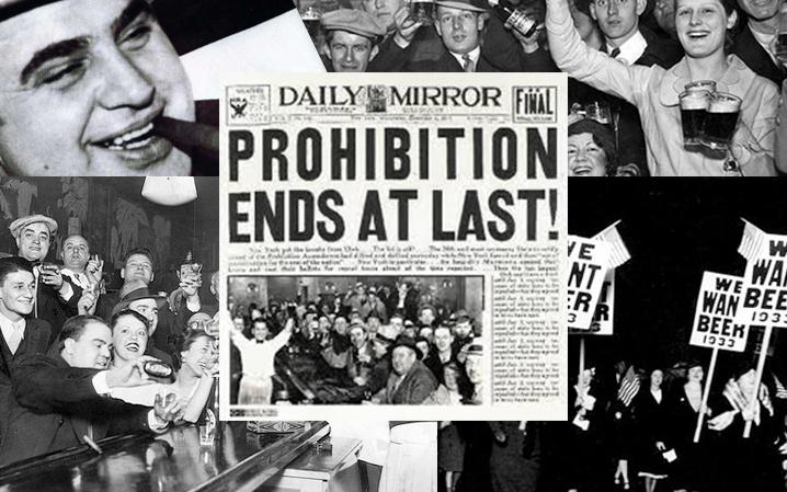 A 85 años de la época de la prohibición en Estados Unidos 🍻 ¡Felicidades!
