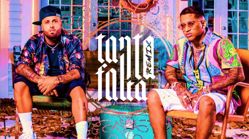 Nicky Jam se une a Bryant Myers en el remix de 'Tanta Falta'