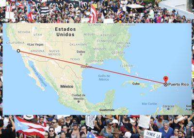 Vamos a llenar la isla ✈️ De la diáspora al Paro Nacional en Puerto Rico