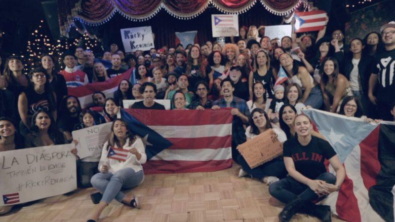 El dolor de la diáspora boricua: No solo lo siento, lo vi [VIDEO]