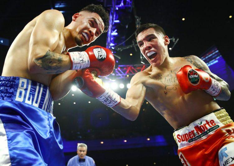 Oscar Valdez se recuperó de una caída y logró noquear a Adam López